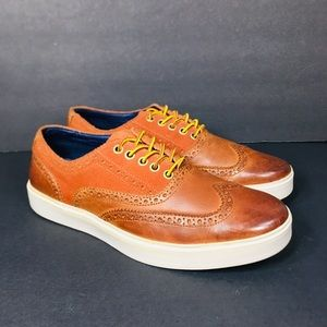 Cole Haan Oxfords Lace Up Leather /Suede 9.5M
